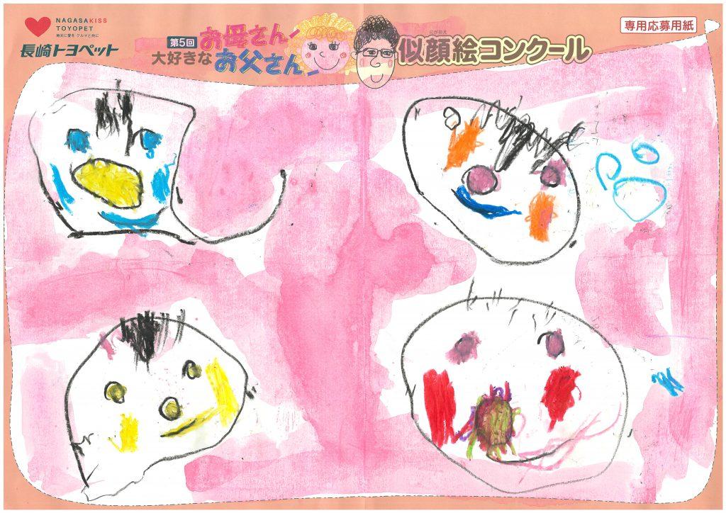 Y.Yちゃん(3才)の作品