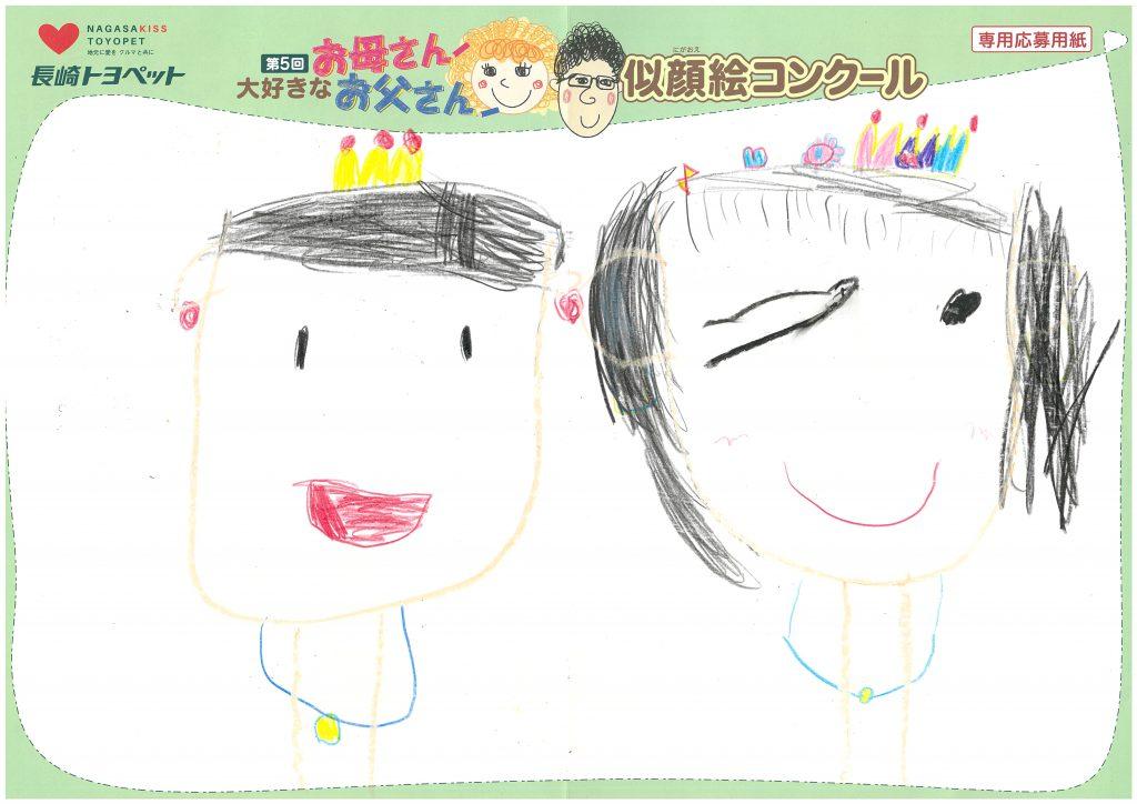 M.Aちゃん(5才)の作品