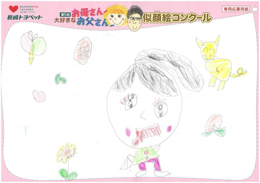 K.Uちゃん(5才)の作品