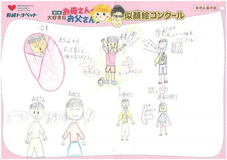 N.Hちゃん(9才)の作品