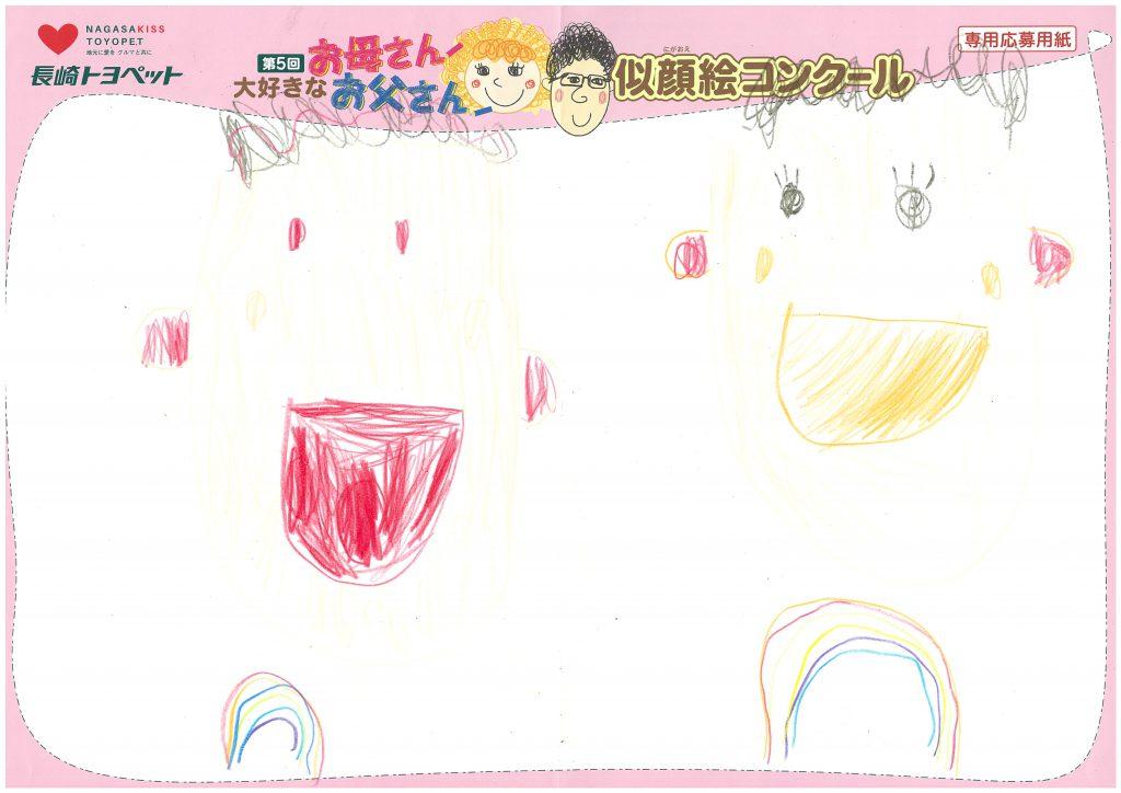K.Yくん(4才)の作品