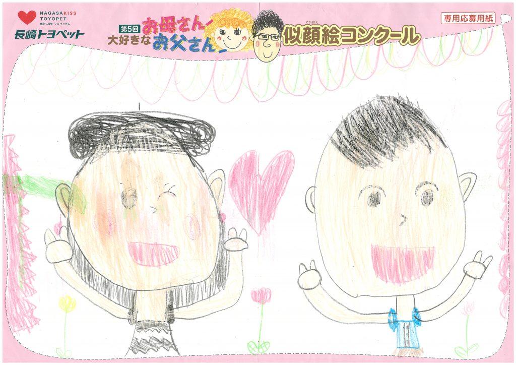 A.Tちゃん(7才)の作品