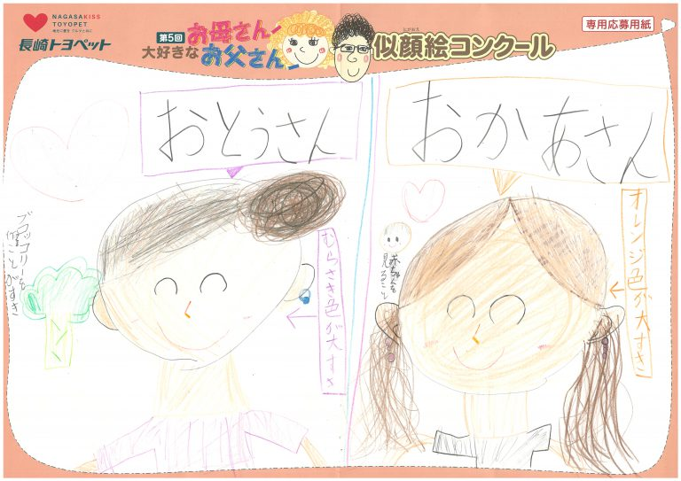 Y.Kちゃん(8才)の作品