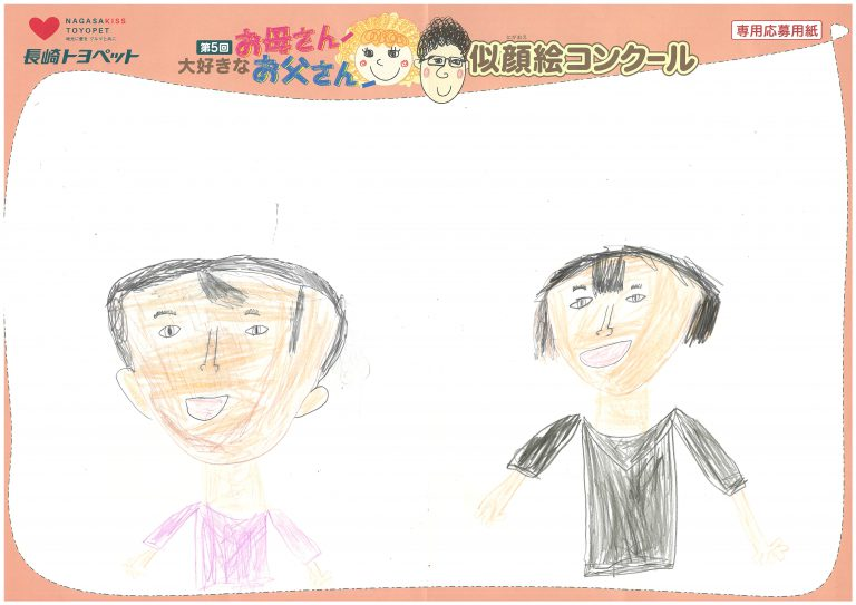 I.Kくん(10才)の作品