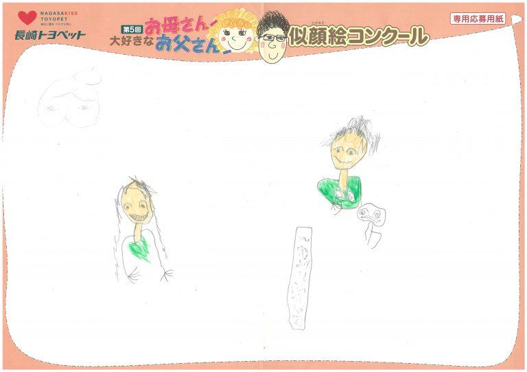 R.Sくん(5才)の作品