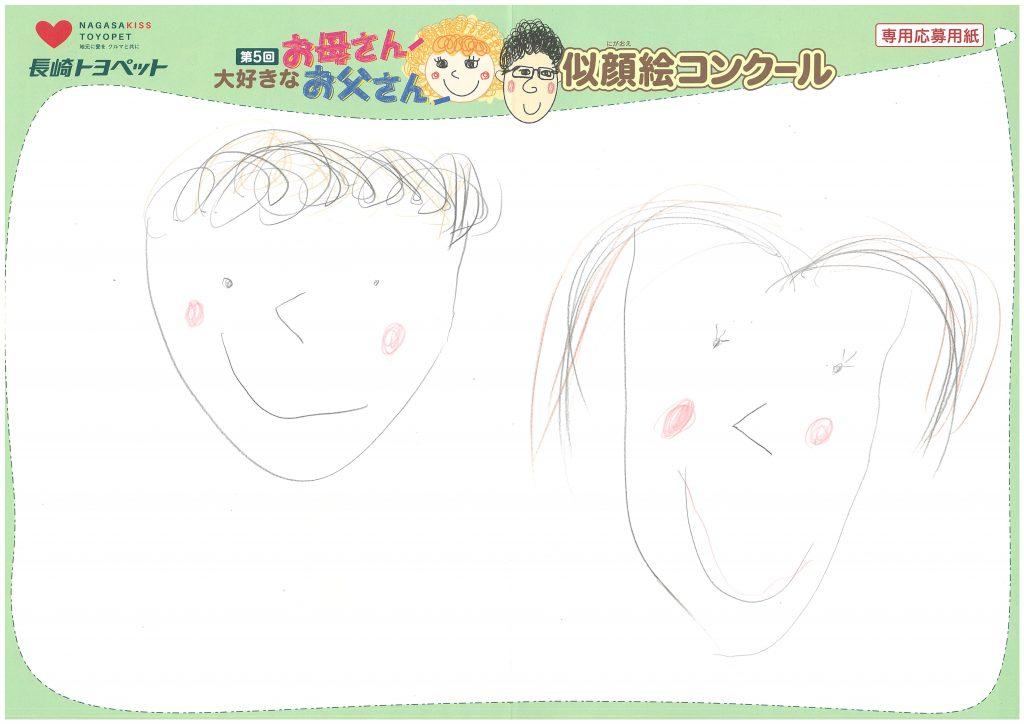 E.Kちゃん(5才)の作品