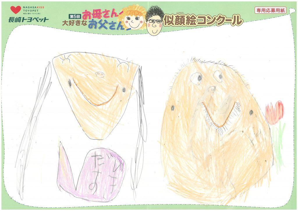 N.Iちゃん(5才)の作品