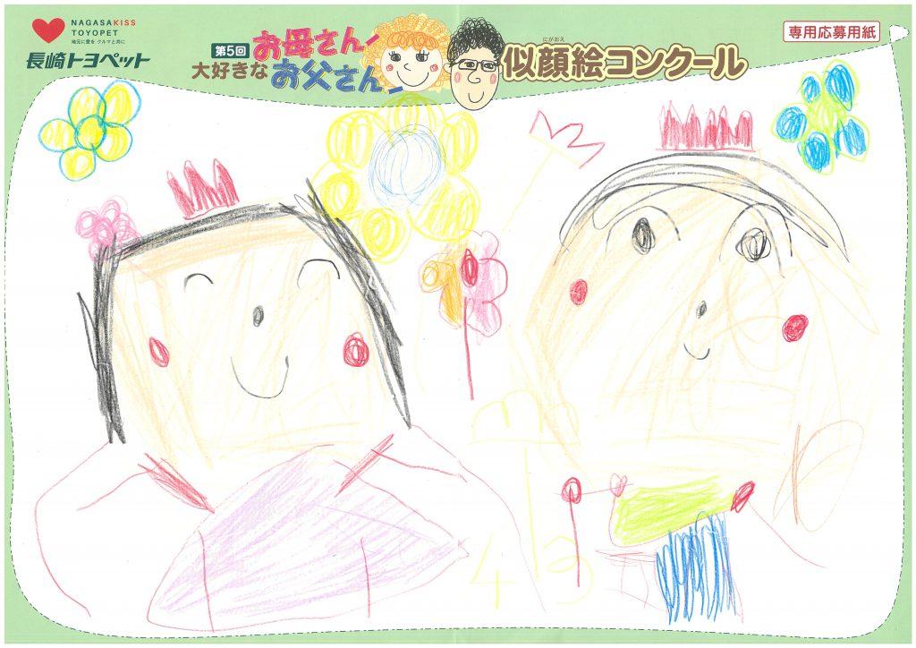 I.Mちゃん(4才)の作品