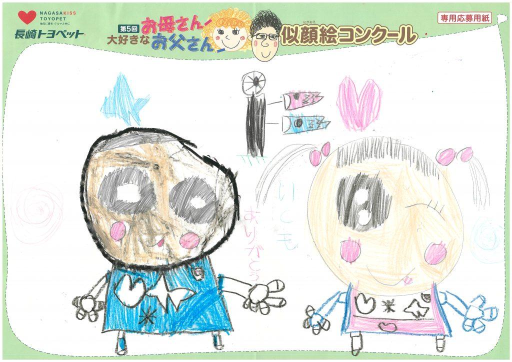W.Kくん(5才)の作品