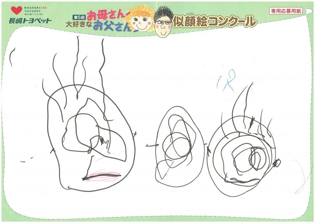 I.Yくん(2才)の作品