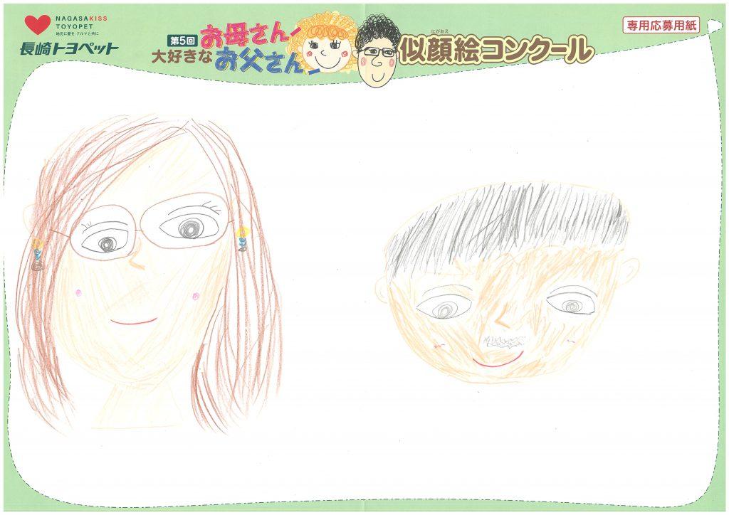 Y.Sちゃん(7才)の作品
