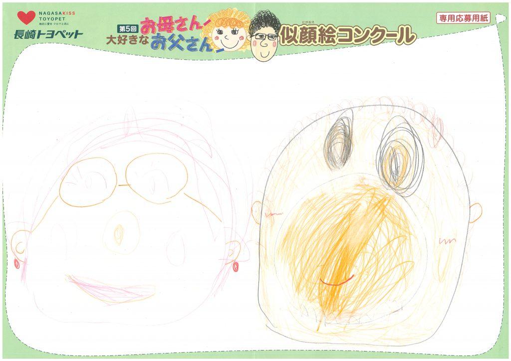 N.Sちゃん(4才)の作品
