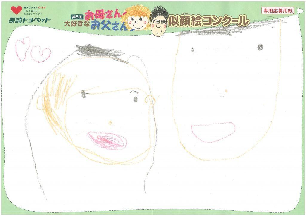 N.Hちゃん(5才)の作品