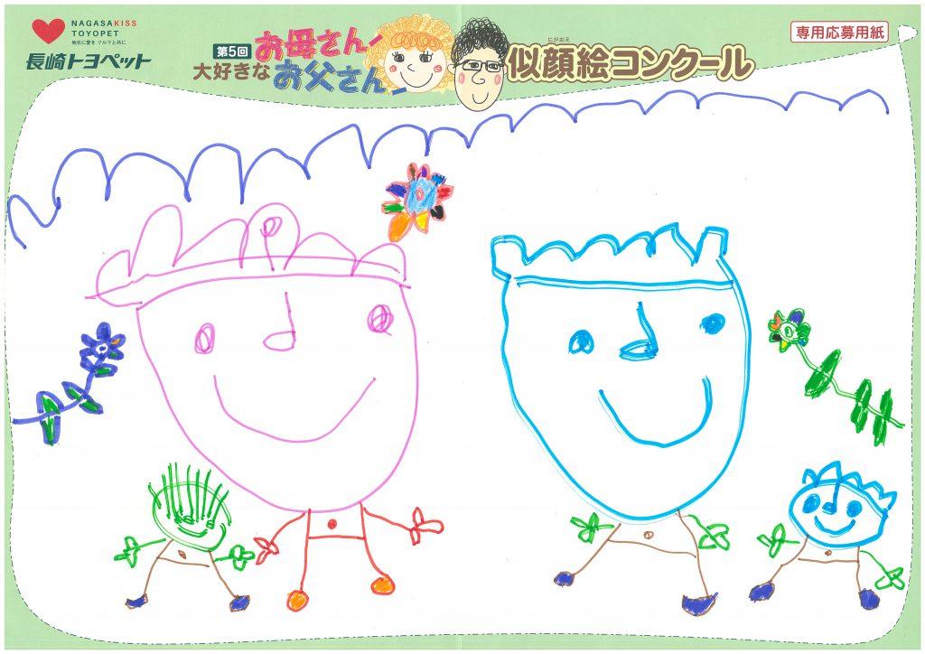 K.Nくん(5才)の作品