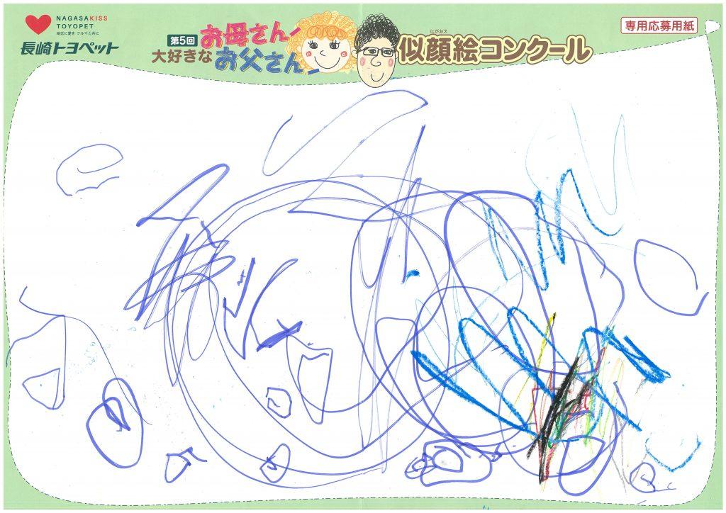 R.Nくん(3才)の作品