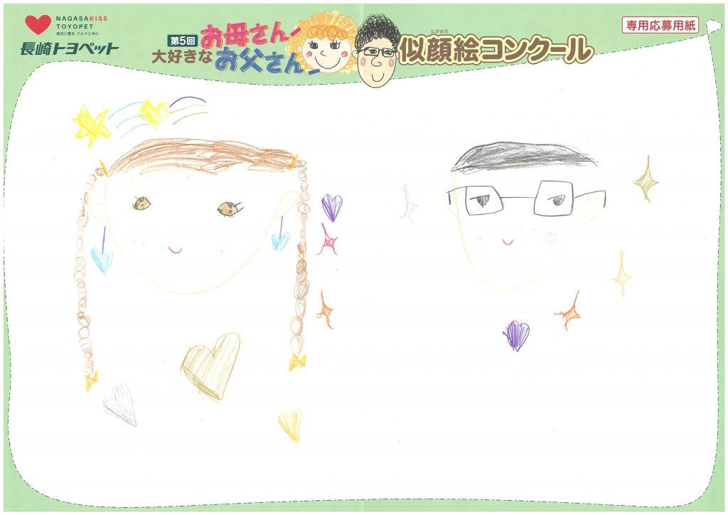 S.Nちゃん(6才)の作品