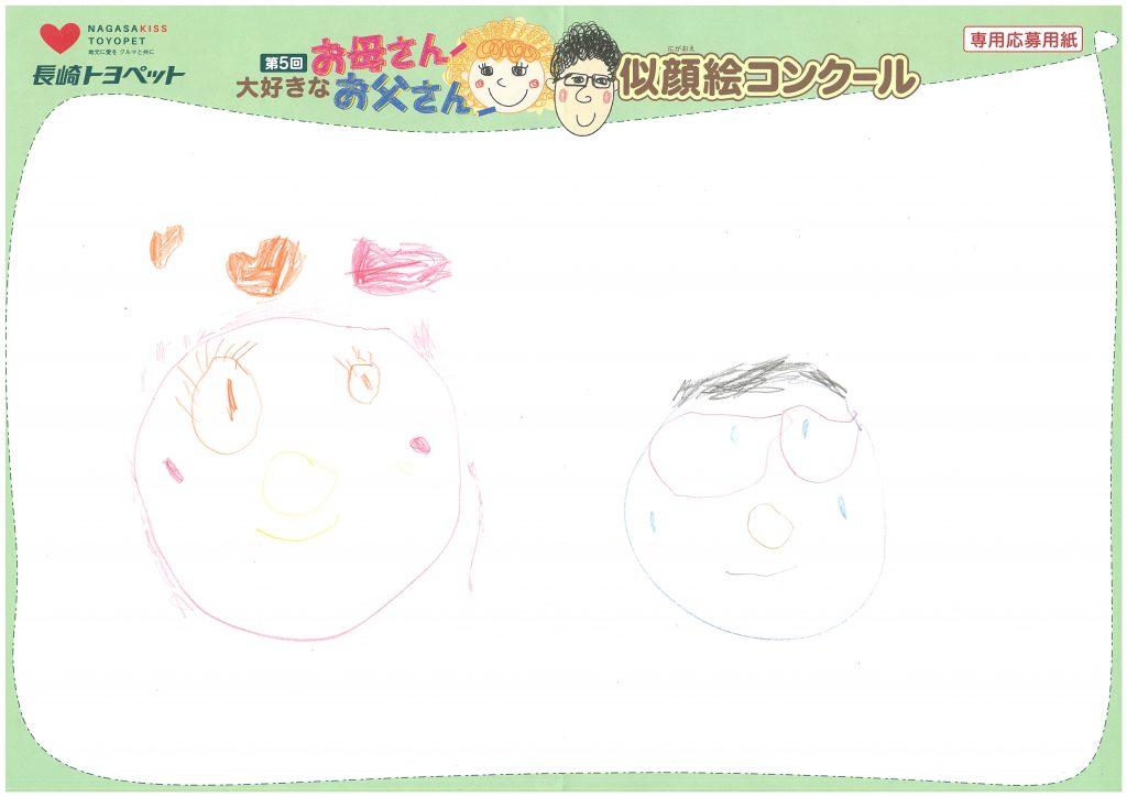 S.Nちゃん(3才)の作品
