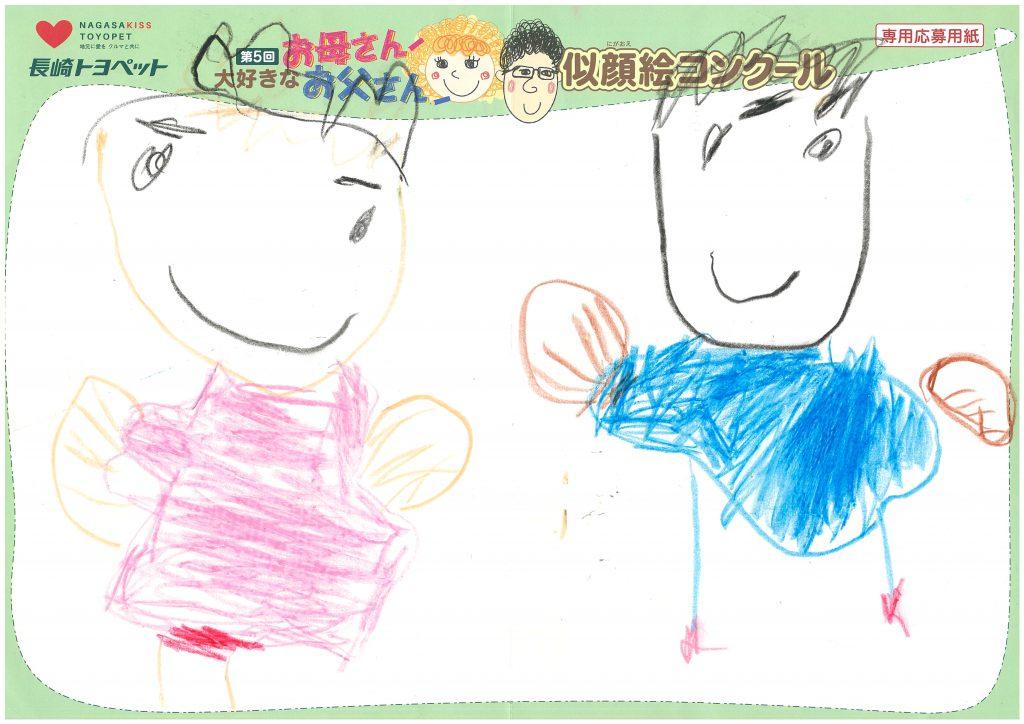 D.Kくん(4才)の作品