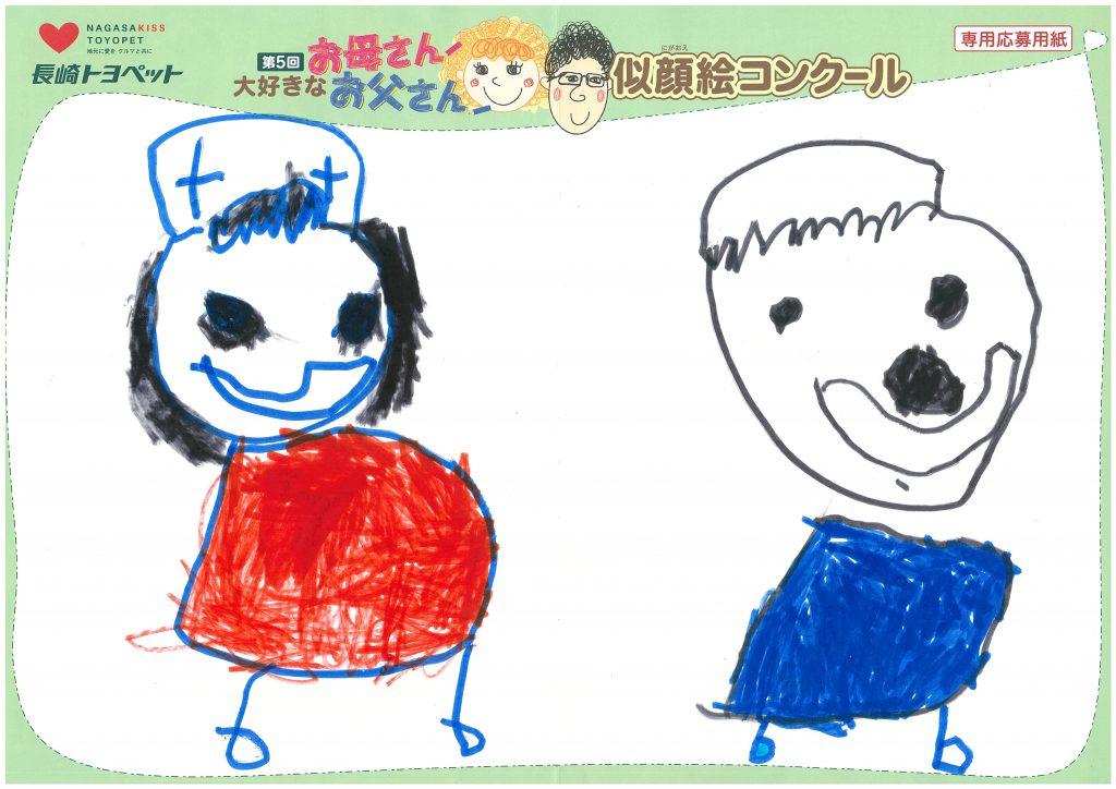 K.Sくん(4才)の作品