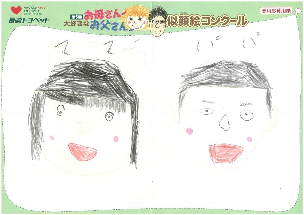 Z.Sちゃん(5才)の作品