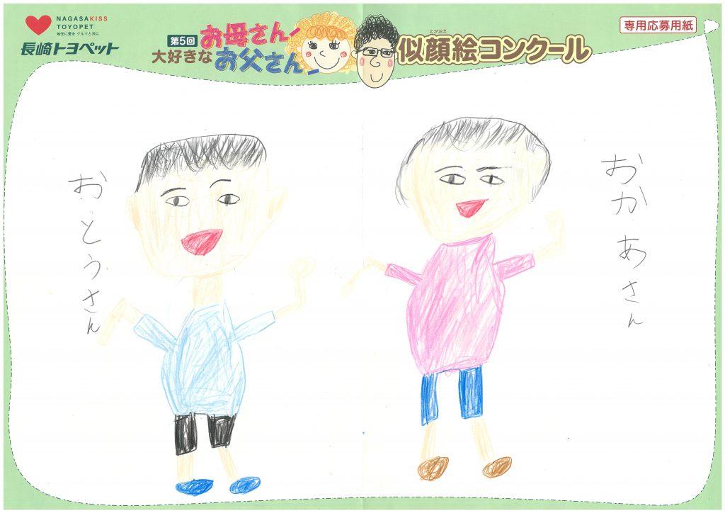 T.Sくん(7才)の作品