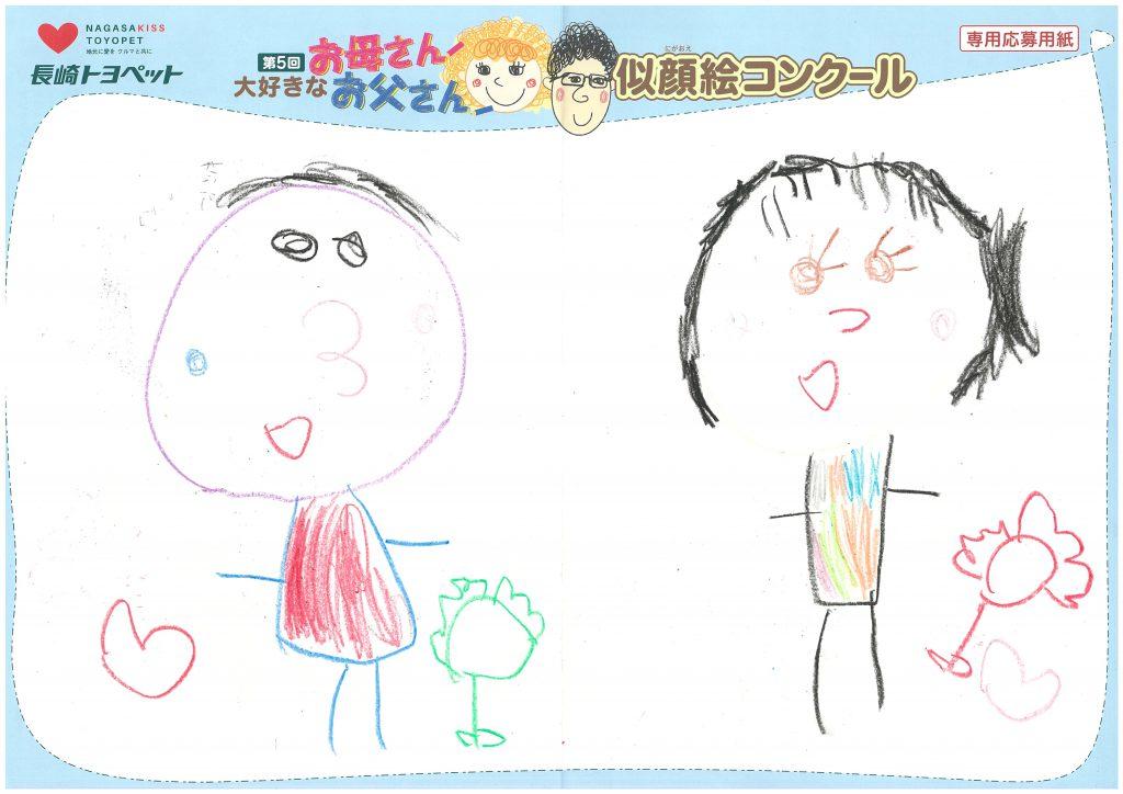 K.Mちゃん(5才)の作品
