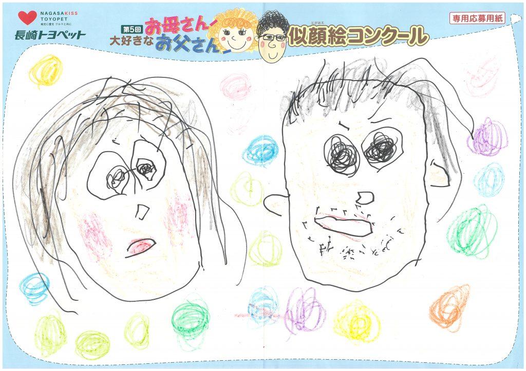 R.Sくん(4才)の作品