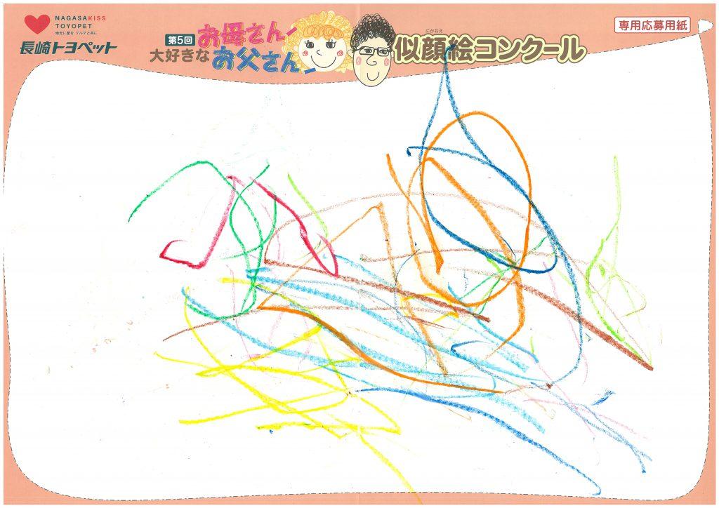 N.Tちゃん(1才)の作品