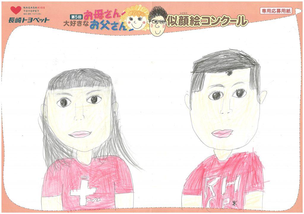 Y.Mちゃん(7才)の作品