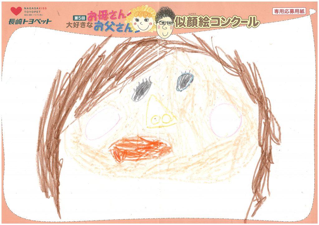 S.Eくん(4才)の作品