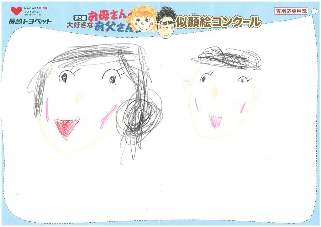 E.Rちゃん(5才)の作品