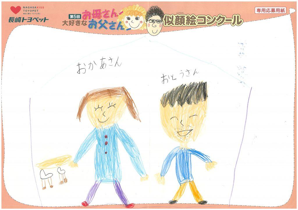 E.Mくん(7才)の作品