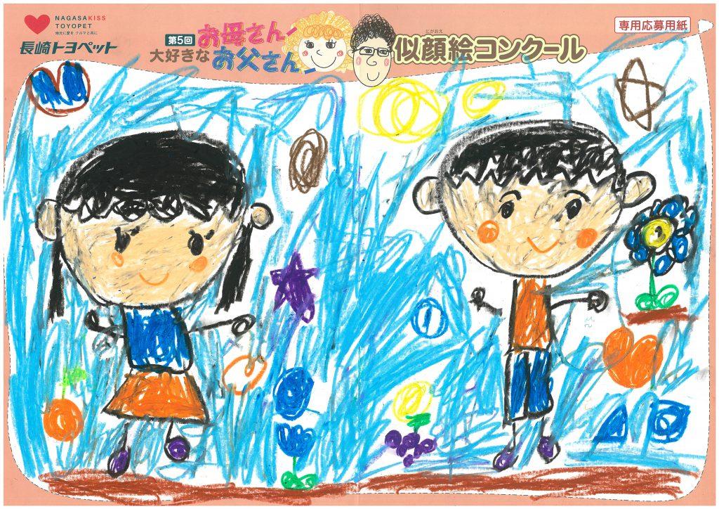 Y.Kちゃん(6才)の作品
