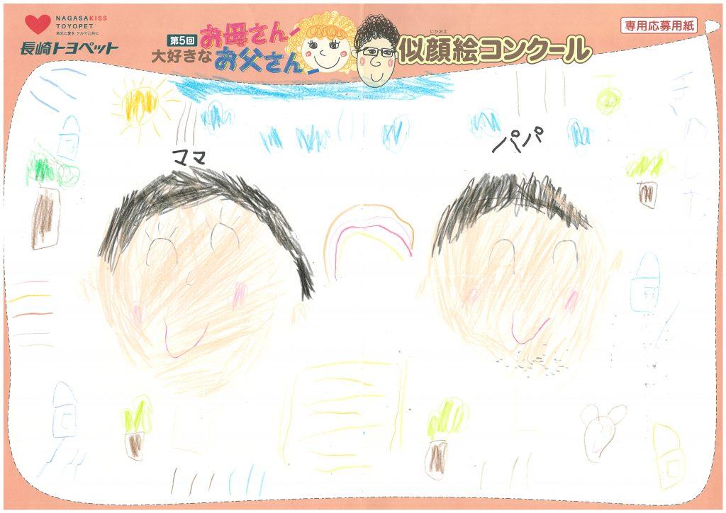 S.Kくん(6才)の作品