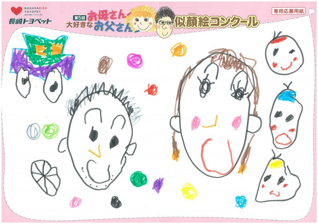 M.Nくん(5才)の作品