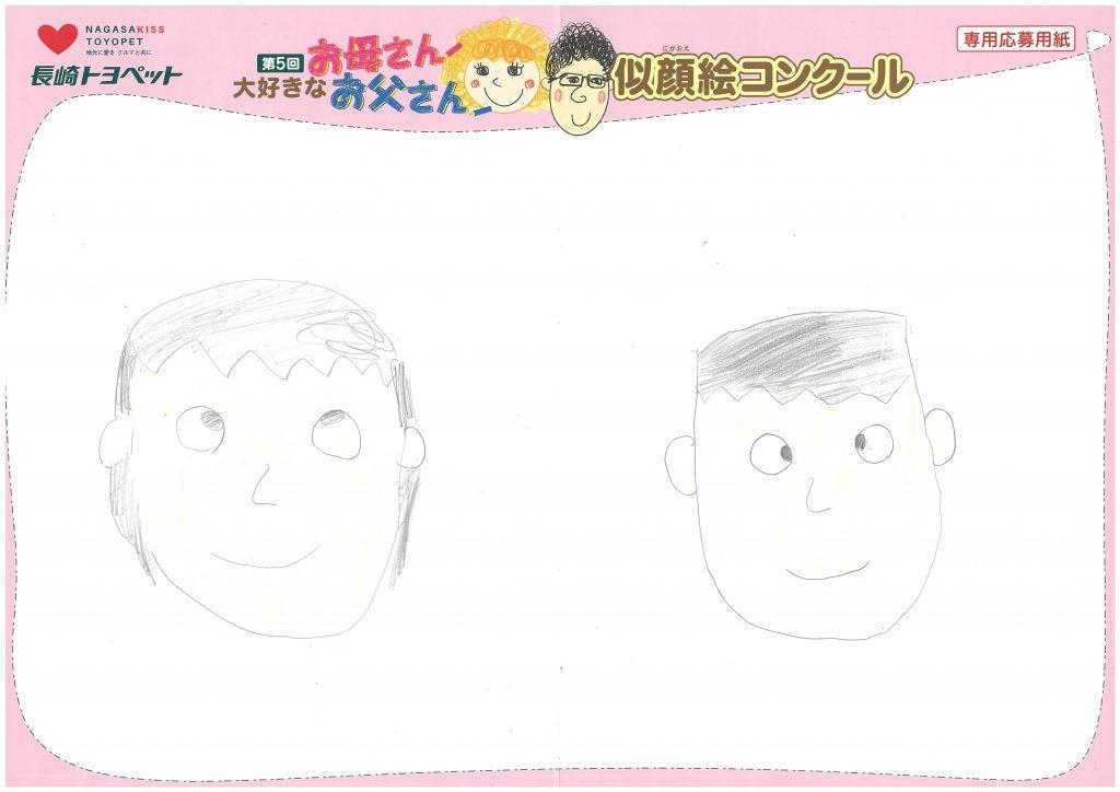 A.Uくん(8才)の作品