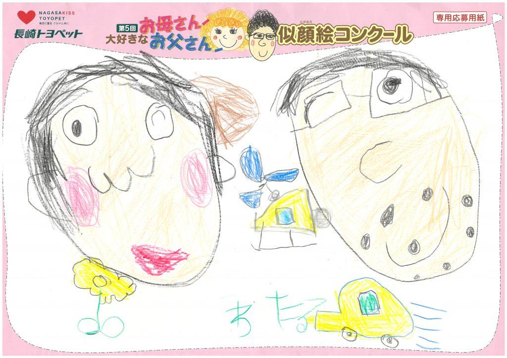 W.Iくん(5才)の作品