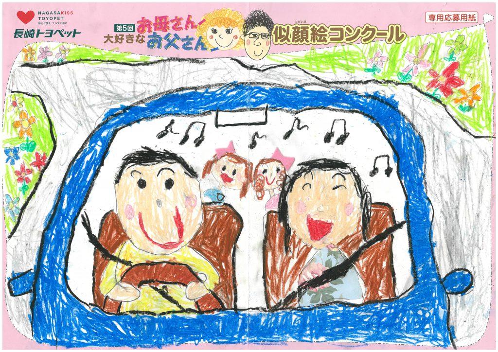 K.Oちゃん(5才)の作品