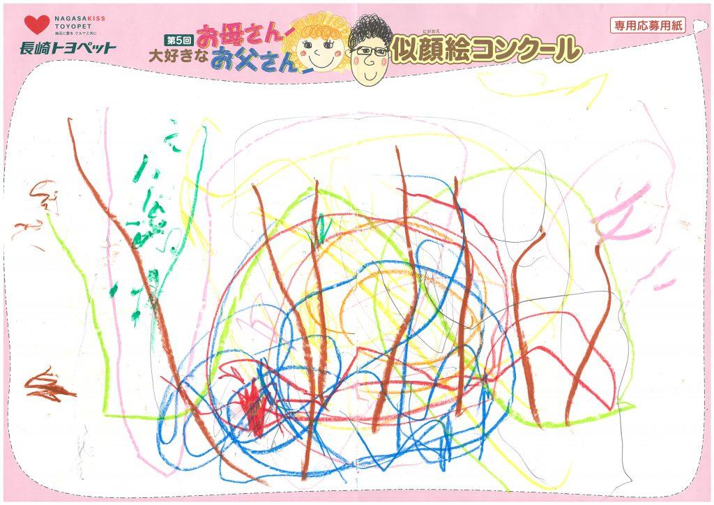 H.Oちゃん(2才)の作品