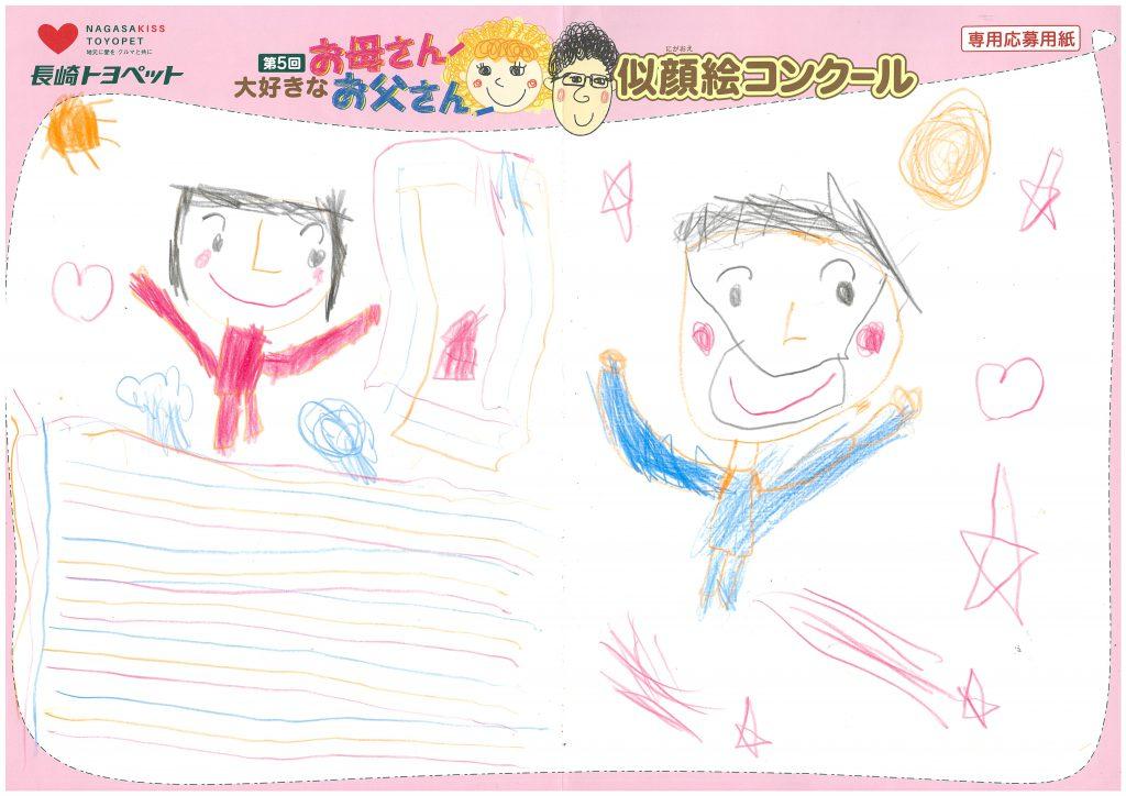 M.Kくん(6才)の作品