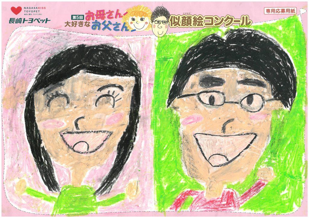H.Kちゃん(8才)の作品