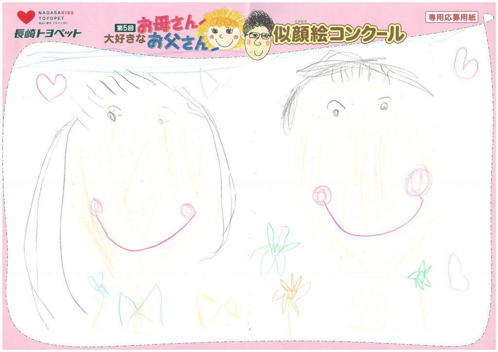 I.Hちゃん(5才)の作品