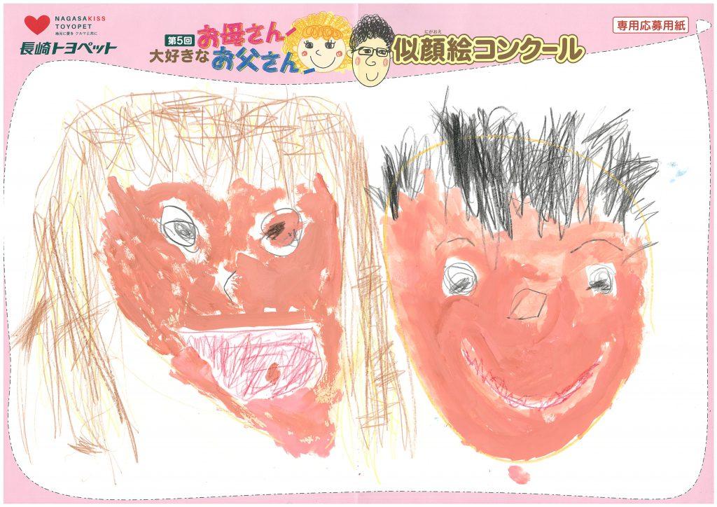 M.Kくん(3才)の作品