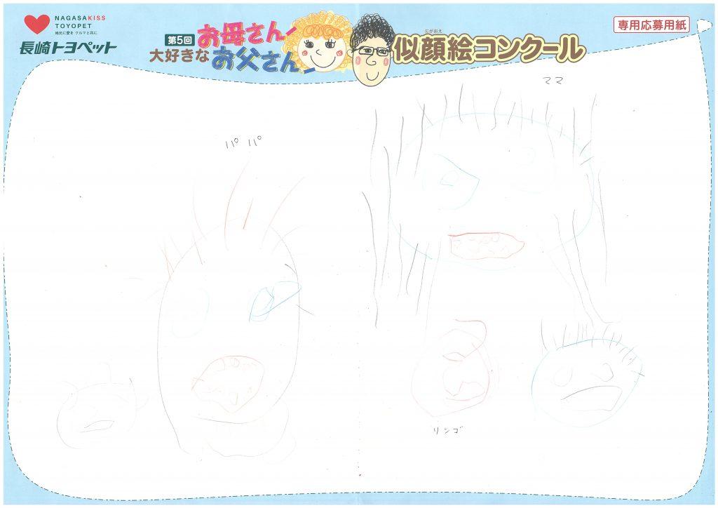 R.Iちゃん(4才)の作品