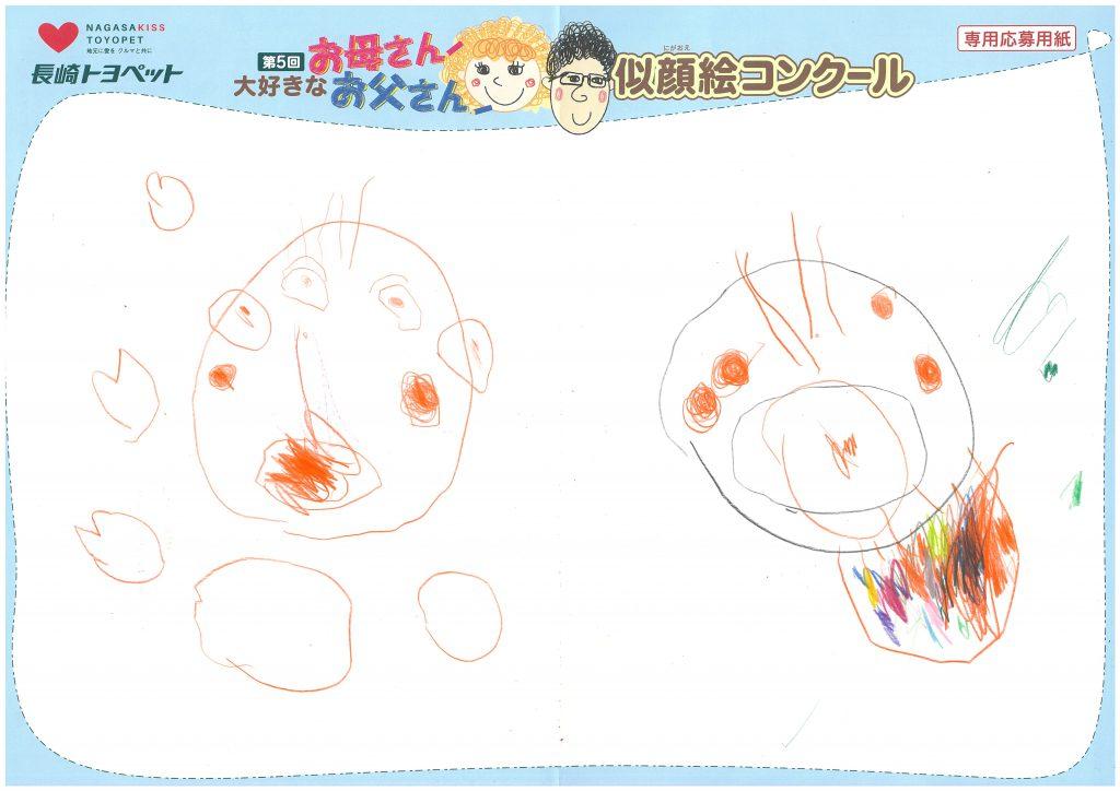 K.Iちゃん(3才)の作品