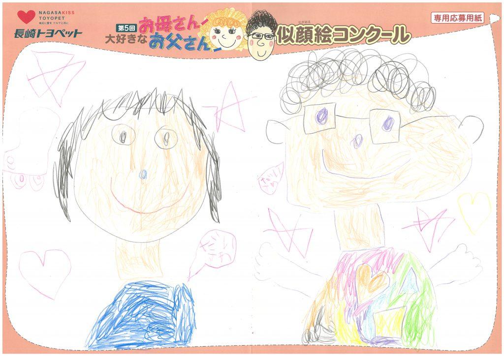 U.Tちゃん(5才)の作品
