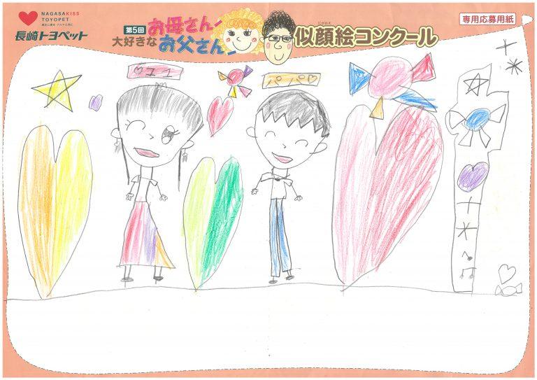 K.Sちゃん(7才)の作品
