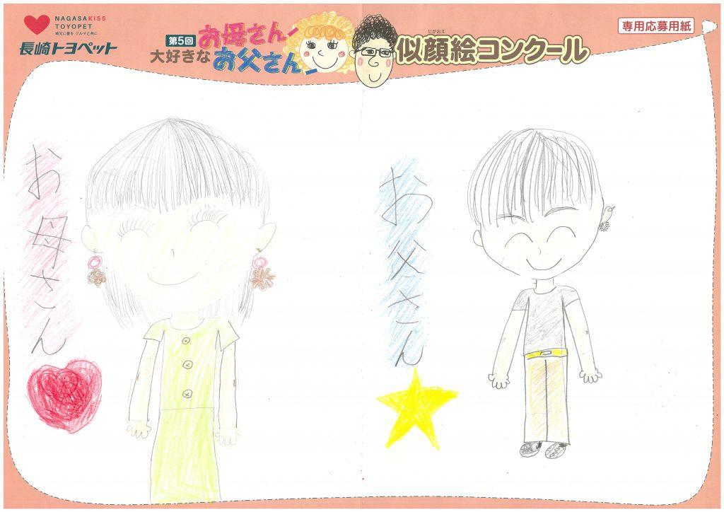 M.Kちゃん(8才)の作品