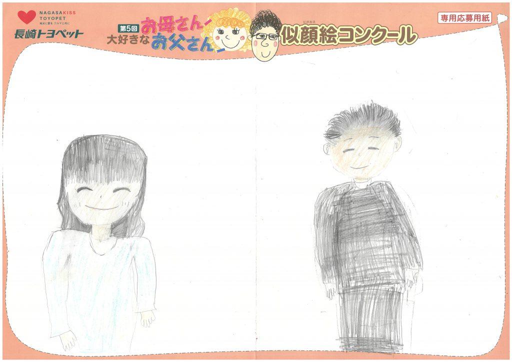 M.Wちゃん(7才)の作品
