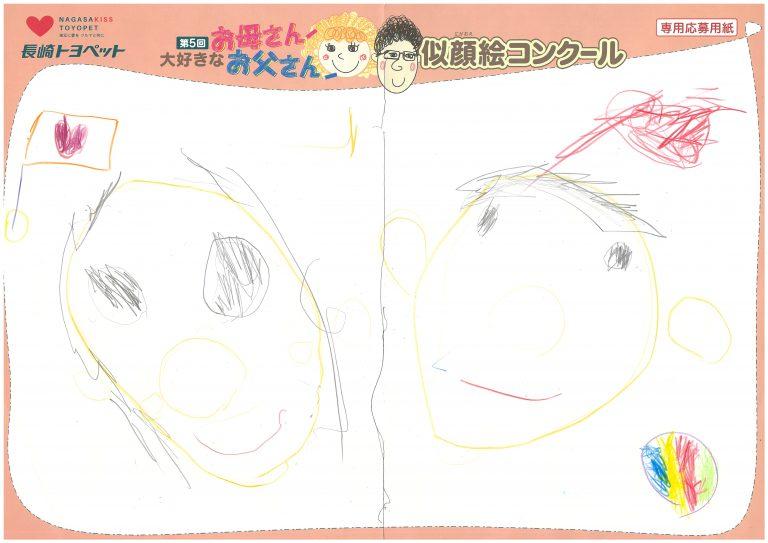 U.Nちゃん(3才)の作品